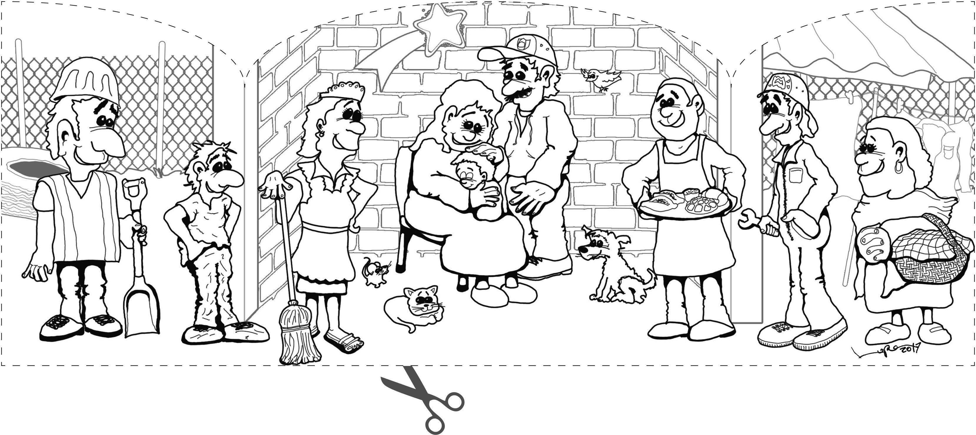 Ausmalbilder Advent und Weihnachten Pfarreiengemeinschaft