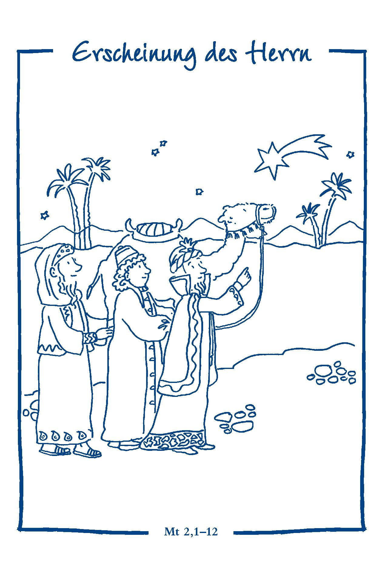 Ausgezeichnet Ausmalbilder Zum Katholischen Heiligen Galerie - Entry ...
